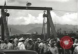 Image of civilian workers Pearl Harbor Hawaii USA, 1942, second 52 stock footage video 65675061861