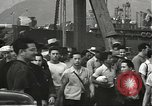Image of civilian workers Pearl Harbor Hawaii USA, 1942, second 58 stock footage video 65675061861