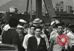 Image of civilian workers Pearl Harbor Hawaii USA, 1942, second 61 stock footage video 65675061861