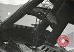 Image of Workers removing foremast of USS Arizona Pearl Harbor Hawaii USA, 1942, second 1 stock footage video 65675061864