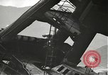 Image of Workers removing foremast of USS Arizona Pearl Harbor Hawaii USA, 1942, second 4 stock footage video 65675061864
