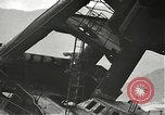 Image of Workers removing foremast of USS Arizona Pearl Harbor Hawaii USA, 1942, second 8 stock footage video 65675061864