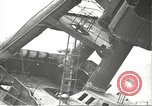Image of Workers removing foremast of USS Arizona Pearl Harbor Hawaii USA, 1942, second 9 stock footage video 65675061864
