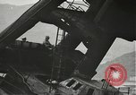 Image of Workers removing foremast of USS Arizona Pearl Harbor Hawaii USA, 1942, second 13 stock footage video 65675061864