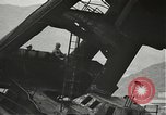 Image of Workers removing foremast of USS Arizona Pearl Harbor Hawaii USA, 1942, second 14 stock footage video 65675061864