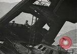 Image of Workers removing foremast of USS Arizona Pearl Harbor Hawaii USA, 1942, second 15 stock footage video 65675061864