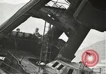 Image of Workers removing foremast of USS Arizona Pearl Harbor Hawaii USA, 1942, second 17 stock footage video 65675061864