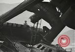 Image of Workers removing foremast of USS Arizona Pearl Harbor Hawaii USA, 1942, second 18 stock footage video 65675061864