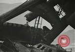 Image of Workers removing foremast of USS Arizona Pearl Harbor Hawaii USA, 1942, second 19 stock footage video 65675061864