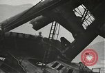 Image of Workers removing foremast of USS Arizona Pearl Harbor Hawaii USA, 1942, second 20 stock footage video 65675061864