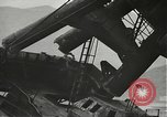 Image of Workers removing foremast of USS Arizona Pearl Harbor Hawaii USA, 1942, second 25 stock footage video 65675061864