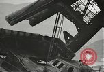Image of Workers removing foremast of USS Arizona Pearl Harbor Hawaii USA, 1942, second 34 stock footage video 65675061864