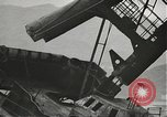 Image of Workers removing foremast of USS Arizona Pearl Harbor Hawaii USA, 1942, second 36 stock footage video 65675061864