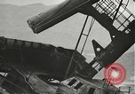 Image of Workers removing foremast of USS Arizona Pearl Harbor Hawaii USA, 1942, second 37 stock footage video 65675061864
