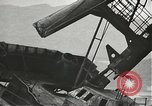 Image of Workers removing foremast of USS Arizona Pearl Harbor Hawaii USA, 1942, second 38 stock footage video 65675061864