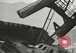 Image of Workers removing foremast of USS Arizona Pearl Harbor Hawaii USA, 1942, second 39 stock footage video 65675061864