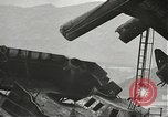 Image of Workers removing foremast of USS Arizona Pearl Harbor Hawaii USA, 1942, second 45 stock footage video 65675061864
