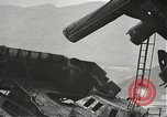 Image of Workers removing foremast of USS Arizona Pearl Harbor Hawaii USA, 1942, second 46 stock footage video 65675061864