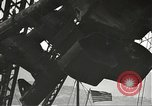 Image of Workers removing foremast of USS Arizona Pearl Harbor Hawaii USA, 1942, second 62 stock footage video 65675061864