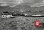 Image of dock installations Hawaii USA, 1945, second 9 stock footage video 65675061869