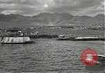 Image of dock installations Hawaii USA, 1945, second 10 stock footage video 65675061869