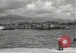 Image of dock installations Hawaii USA, 1945, second 22 stock footage video 65675061869