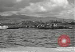 Image of dock installations Hawaii USA, 1945, second 40 stock footage video 65675061869