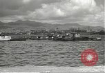 Image of dock installations Hawaii USA, 1945, second 41 stock footage video 65675061869