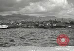 Image of dock installations Hawaii USA, 1945, second 42 stock footage video 65675061869