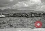 Image of dock installations Hawaii USA, 1945, second 44 stock footage video 65675061869