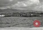 Image of dock installations Hawaii USA, 1945, second 46 stock footage video 65675061869