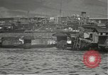 Image of dock installations Hawaii USA, 1945, second 47 stock footage video 65675061869