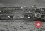 Image of dock installations Hawaii USA, 1945, second 49 stock footage video 65675061869