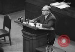 Image of war crimes trial Tokyo Japan, 1948, second 8 stock footage video 65675061884
