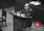 Image of war crimes trial Tokyo Japan, 1948, second 9 stock footage video 65675061884