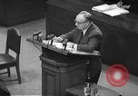 Image of war crimes trial Tokyo Japan, 1948, second 17 stock footage video 65675061884