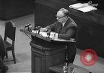 Image of war crimes trial Tokyo Japan, 1948, second 25 stock footage video 65675061884