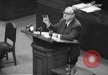 Image of war crimes trial Tokyo Japan, 1948, second 33 stock footage video 65675061884