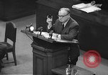 Image of war crimes trial Tokyo Japan, 1948, second 39 stock footage video 65675061884