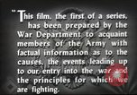 Image of prelude to war Western Europe, 1942, second 41 stock footage video 65675061897
