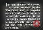 Image of prelude to war Western Europe, 1942, second 43 stock footage video 65675061897
