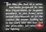 Image of prelude to war Western Europe, 1942, second 44 stock footage video 65675061897