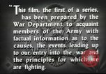Image of prelude to war Western Europe, 1942, second 46 stock footage video 65675061897