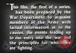 Image of prelude to war Western Europe, 1942, second 48 stock footage video 65675061897