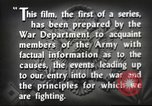 Image of prelude to war Western Europe, 1942, second 50 stock footage video 65675061897