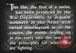 Image of prelude to war Western Europe, 1942, second 54 stock footage video 65675061897