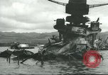 Image of Pearl Harbor attack Pearl Harbor Hawaii USA, 1941, second 57 stock footage video 65675061902