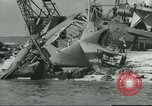 Image of Pearl Harbor attack Pearl Harbor Hawaii USA, 1941, second 34 stock footage video 65675061905