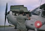Image of O-1E Bird dog Da Nang Vietnam, 1966, second 31 stock footage video 65675061927