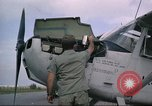 Image of O-1E Bird dog Da Nang Vietnam, 1966, second 34 stock footage video 65675061927